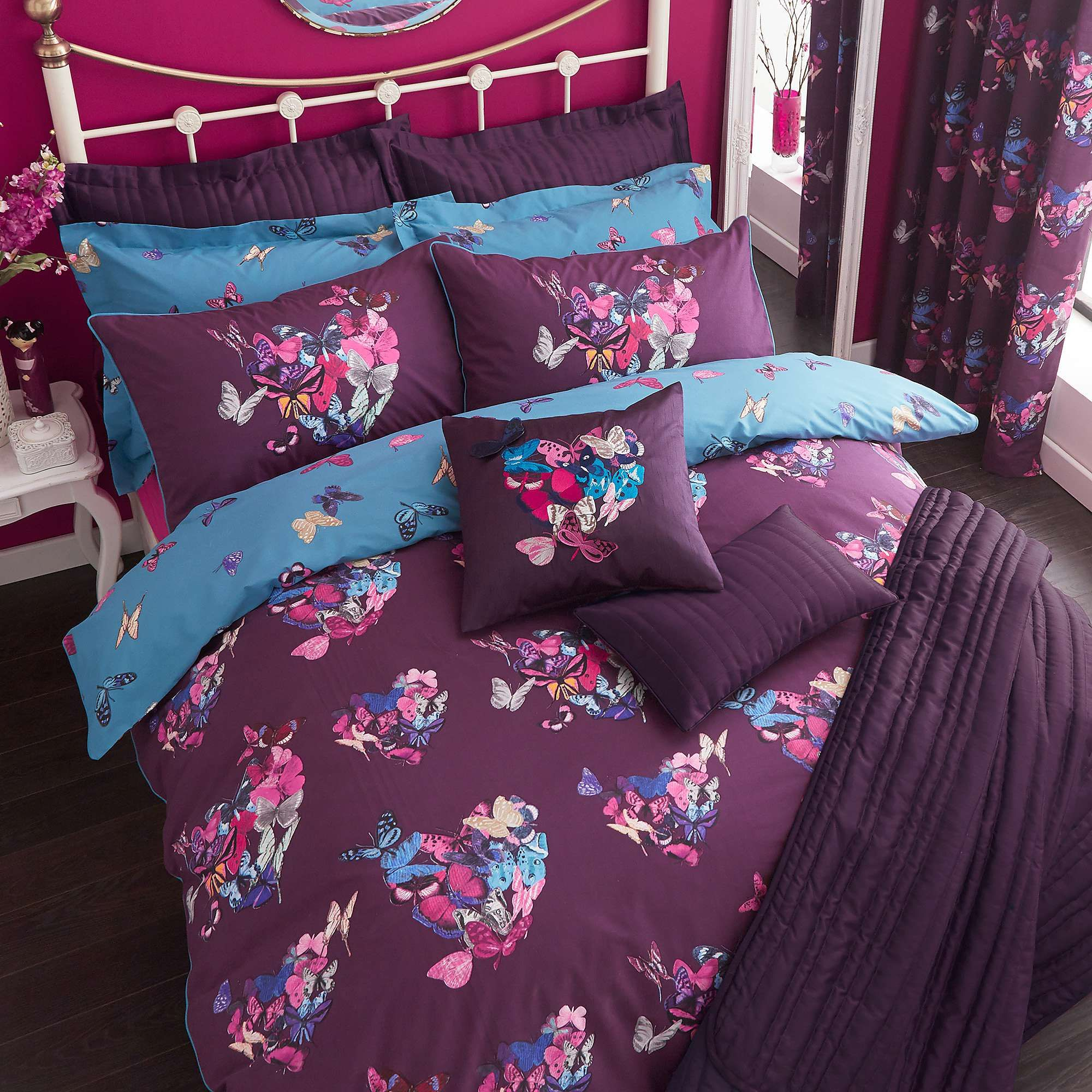 infoz piece duvet coverlets bedroom the print twin ringgold apartment carrie laude faith bedspreads bedding in bag essence purple comforter lavender quilt walmartcom complete blue lilac set and home sets quilts patterns zebra plum
