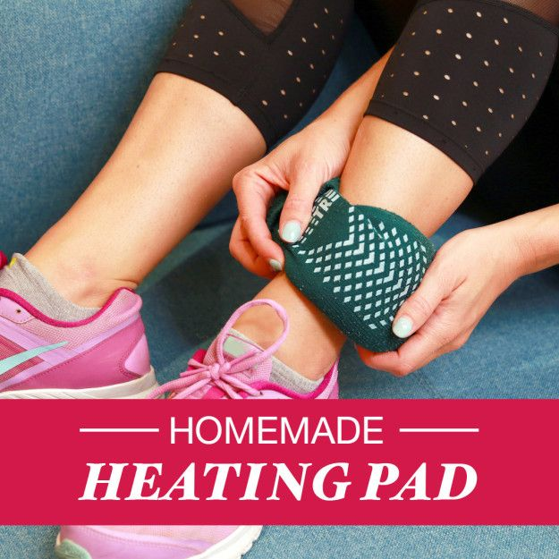 Soothe Aches And Pains With This Homemade Heating Pad Homemade