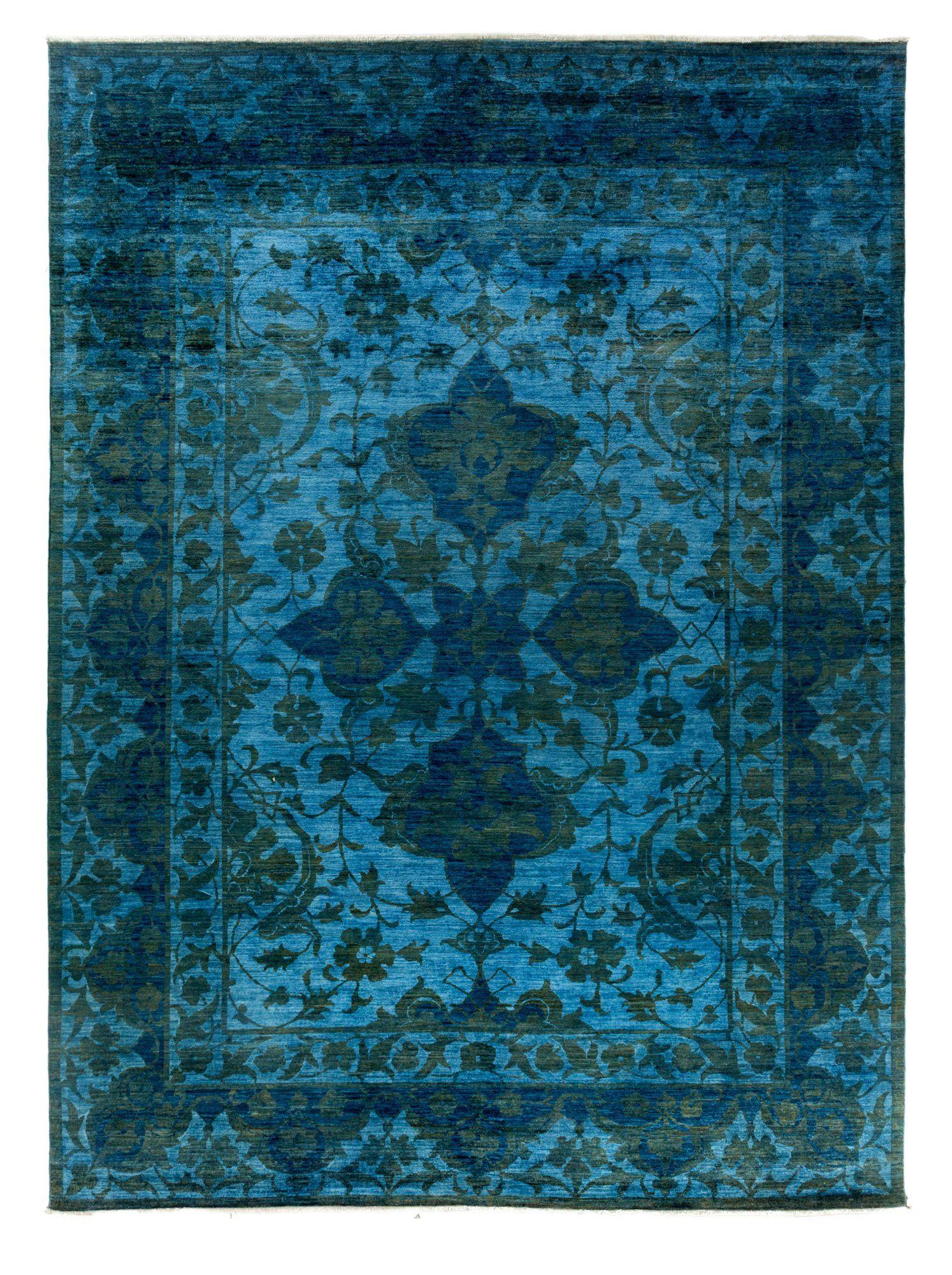 Darya Rugs Ziegler One of a Kind Rug, Blue, 10 x 14 at MYHABIT