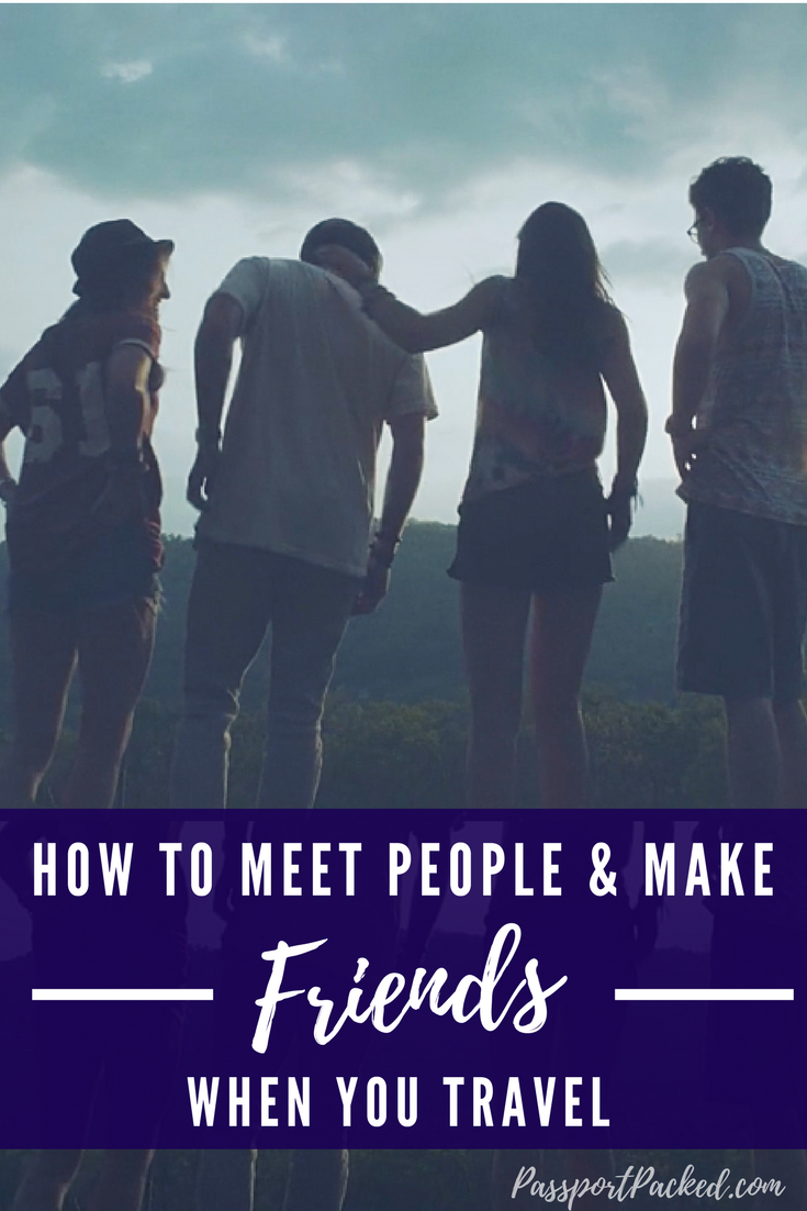 How to make friends traveling HerePin is a great app for