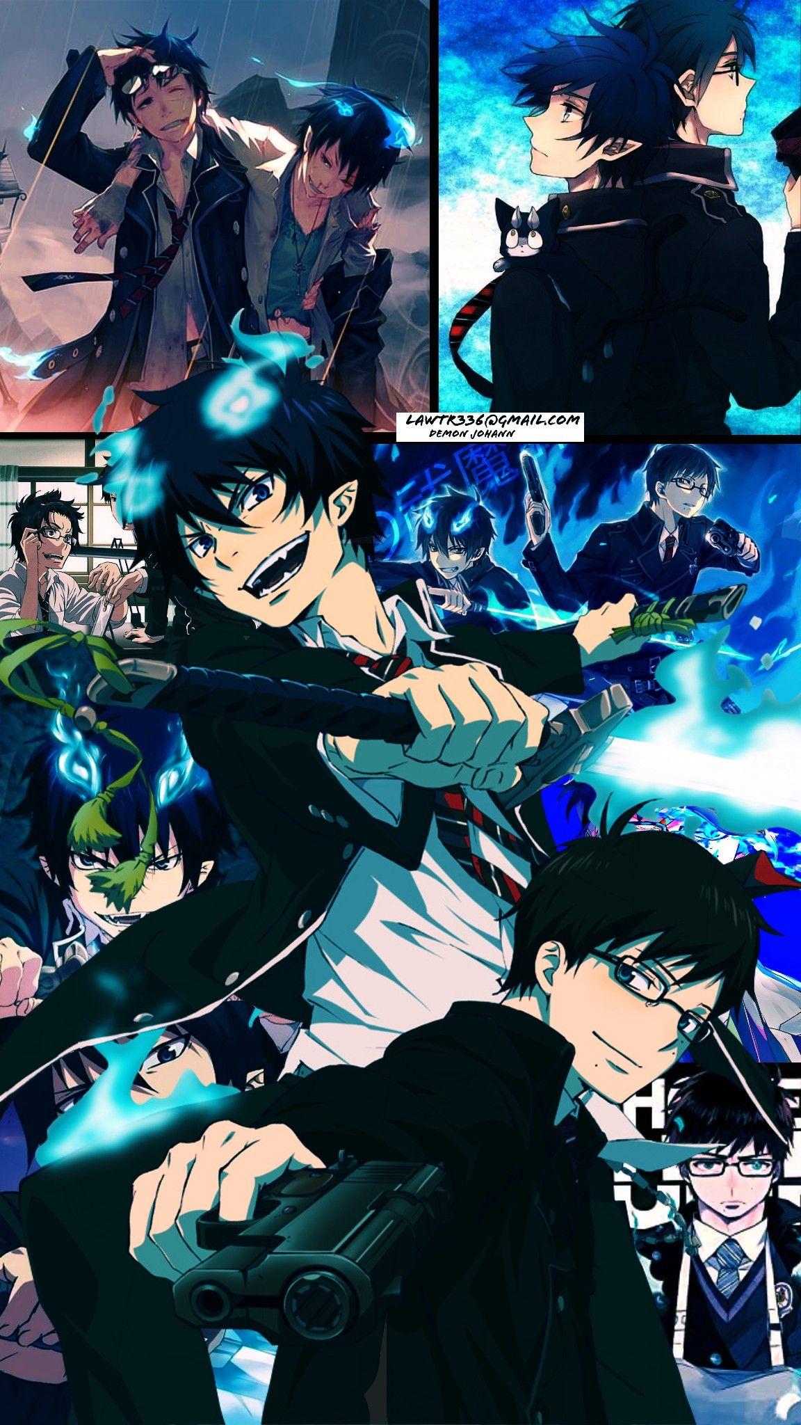 Okumura Rin X Yukio Blue Anime Blue Exorcist Anime Exorcist Anime