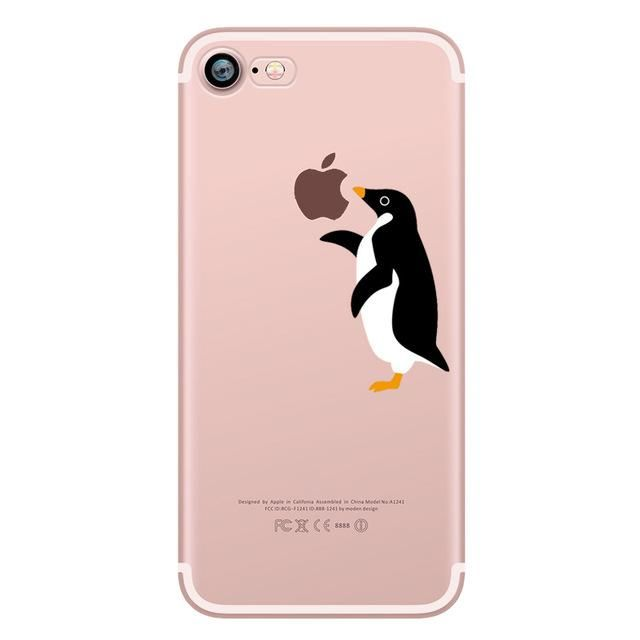 iphone 7 phone cases penguin