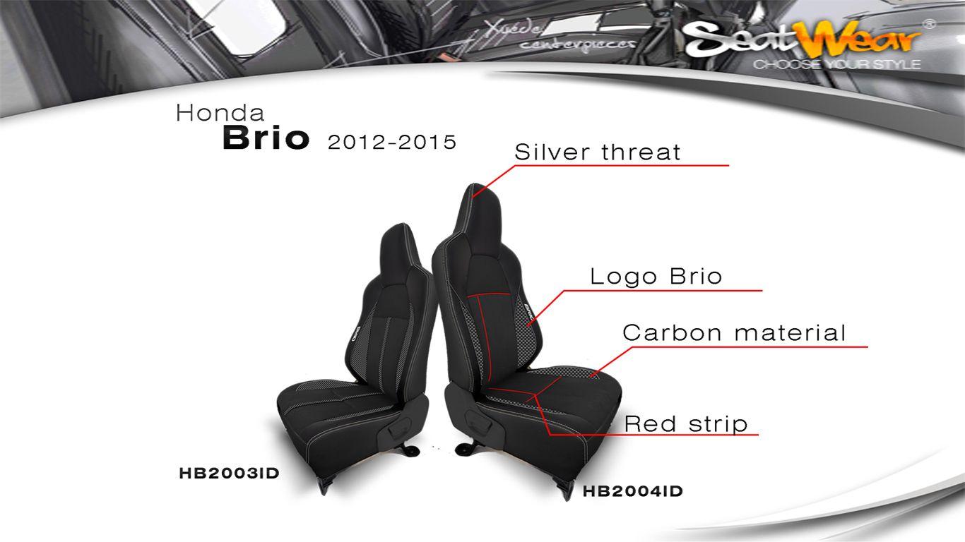 Sarung Jok SeatWear untuk Honda Brio Ready Stock, yuk buruan di order, Ada garansi 2 Tahun Hasil Seperti Paten   Contact Person :  Upi 082122623568  www.seatwear.co.id cs@seatwear.co.id