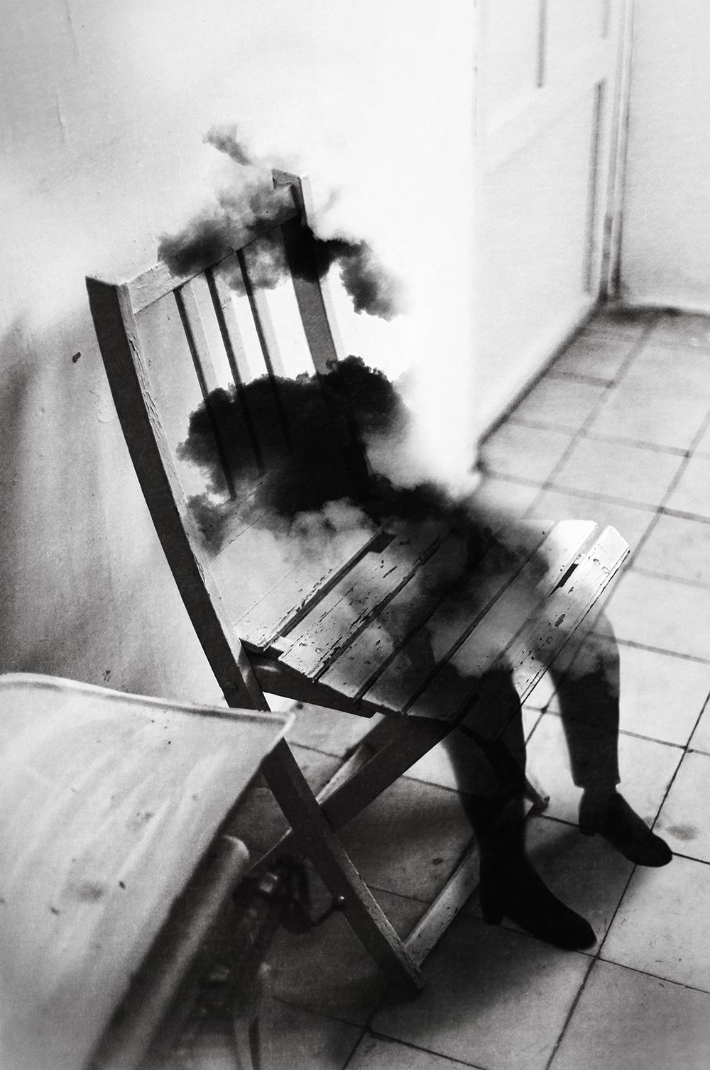 BW Film Photography Silvia Grav Composite Photography - Photographer uses photoshop to create surreal dreamy composite images