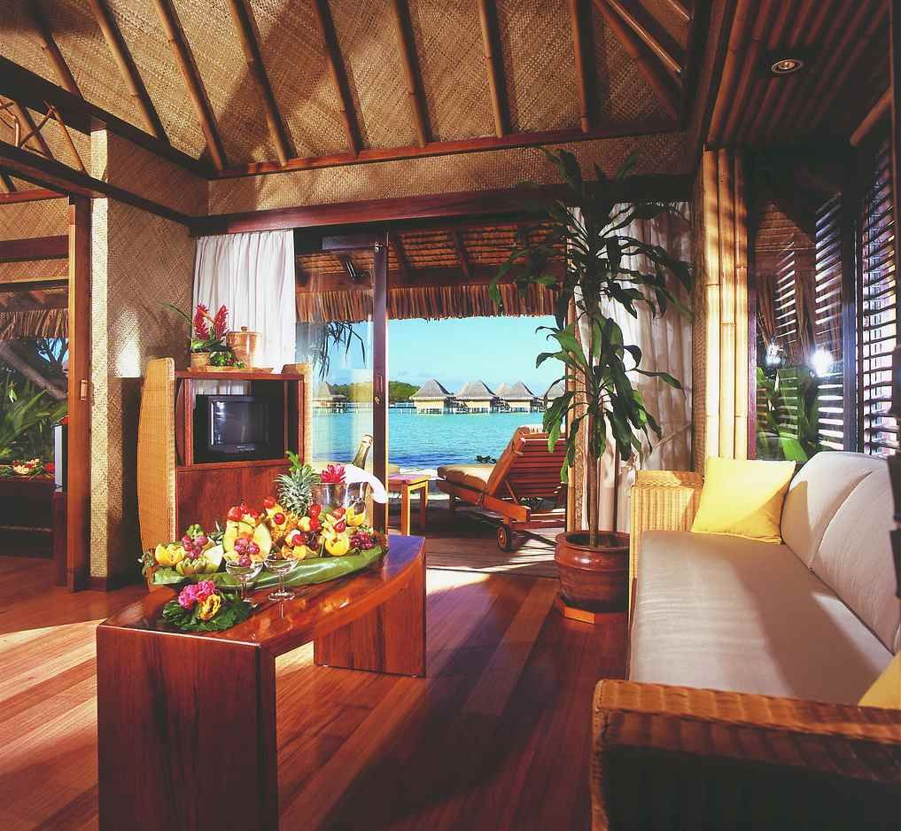 Beach Bungalows Intercontinental Bora Le Moana Resort Photo Copyright Hotels Resorts French Polynesia With My Soul Mate