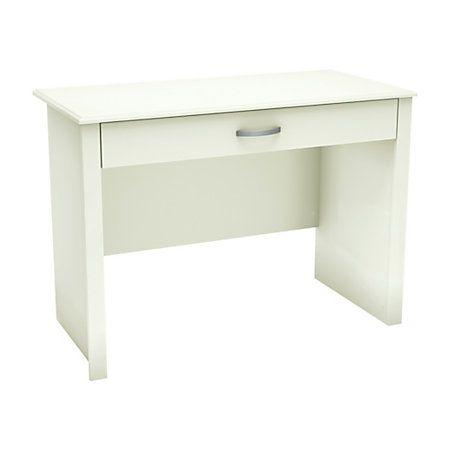Charmant South Shore Furniture Work ID Straight Woodgrain/Laminate Secretary Desk,  ...