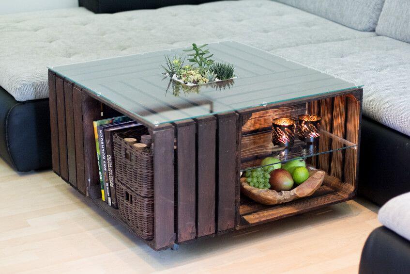 Wohnzimmertisch Glasplatte ~ Couchtisch aus obstkisten mit glasplatte hamburg pallet crates