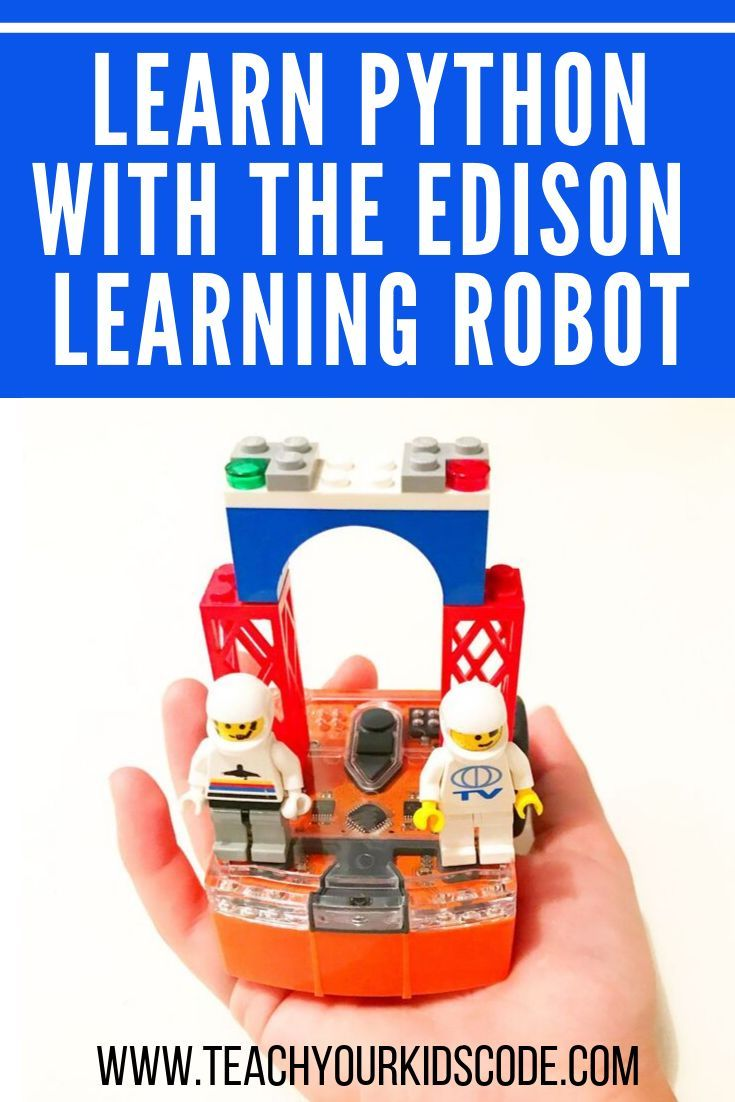 Learn python with edison teach your kids code coding