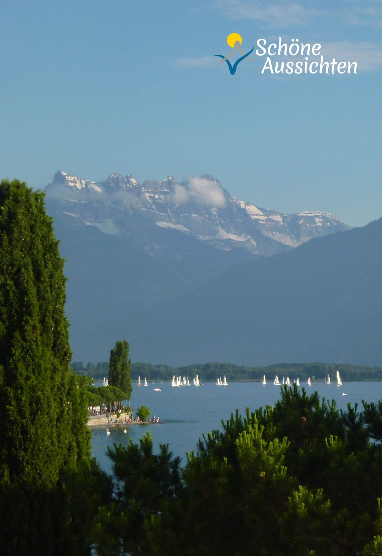 Sommer In Montreux Am Genfersee Lac Leman Schweiz Tour Schone