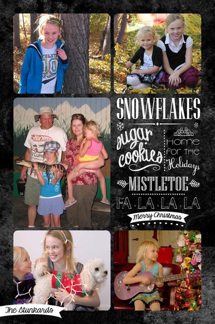 create your own christmas photo card with these free templates - Free Christmas Card Templates For Photographers