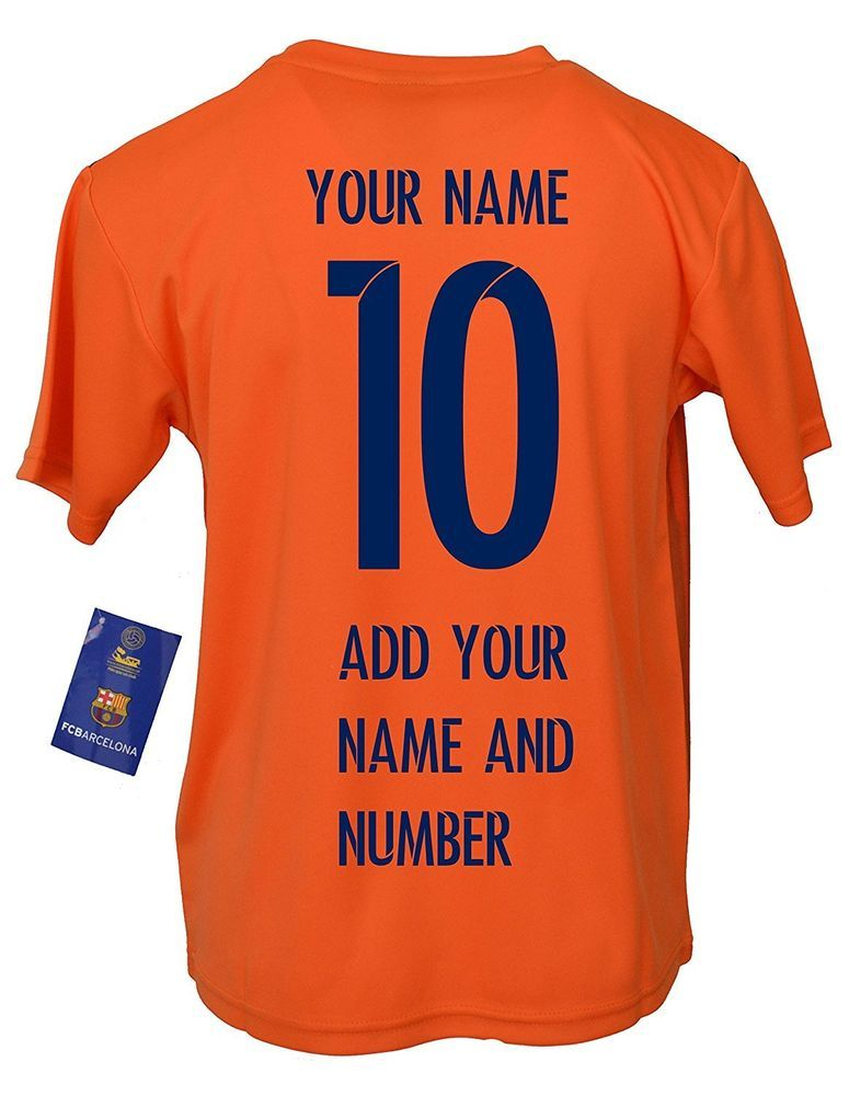 newest c48b4 0c421 Details about FC Barcelona Soccer Jersey Youth Kids Training ...