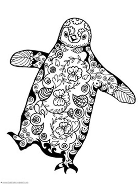 Friday Favorites Penguins Coloring Pages And Stencils Pinterest