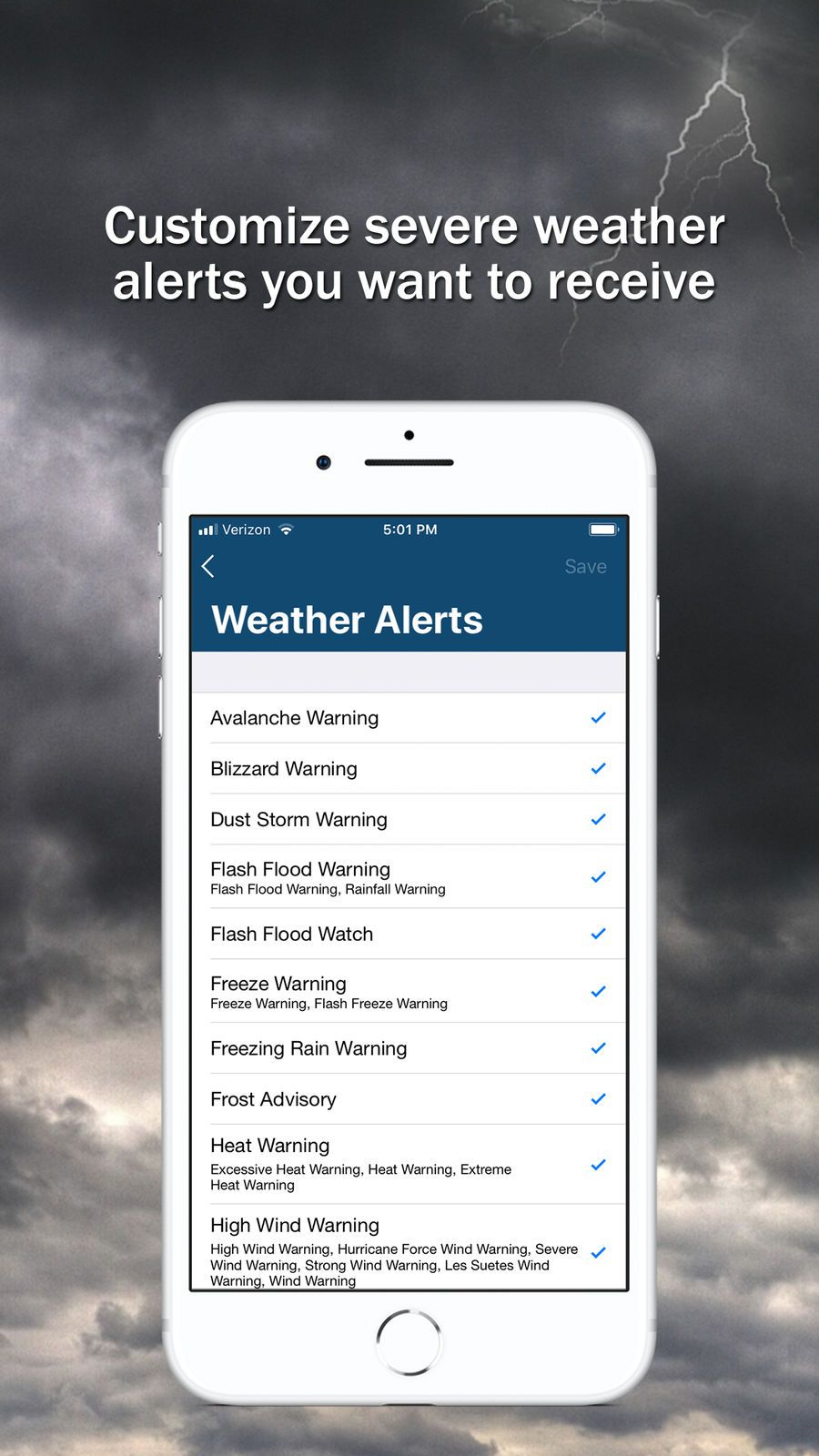 Storm Shield TravelWeatherappsios Storm, Weather