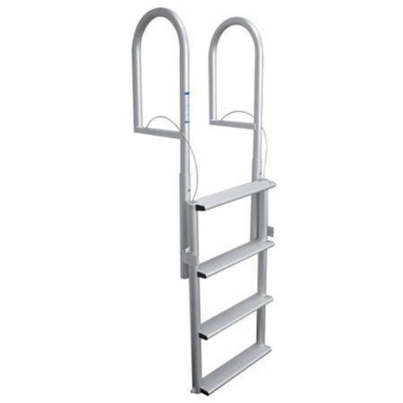 Dockmate Wide Step Dock Lift Ladder 4 Step Overton S Dock Ladder Ladder Retractable Ladder