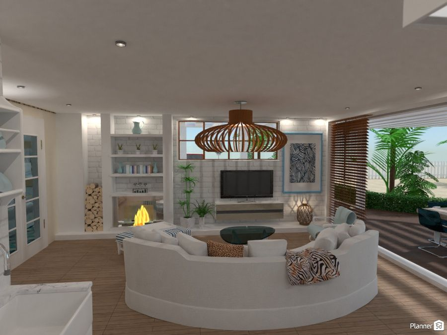 Living Room Interior Planner 5d