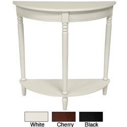 Captivating Wood Half Round Console Table (China)   Overstock™ Shopping   Top Rated  Coffee, Sofa U0026 End Tables