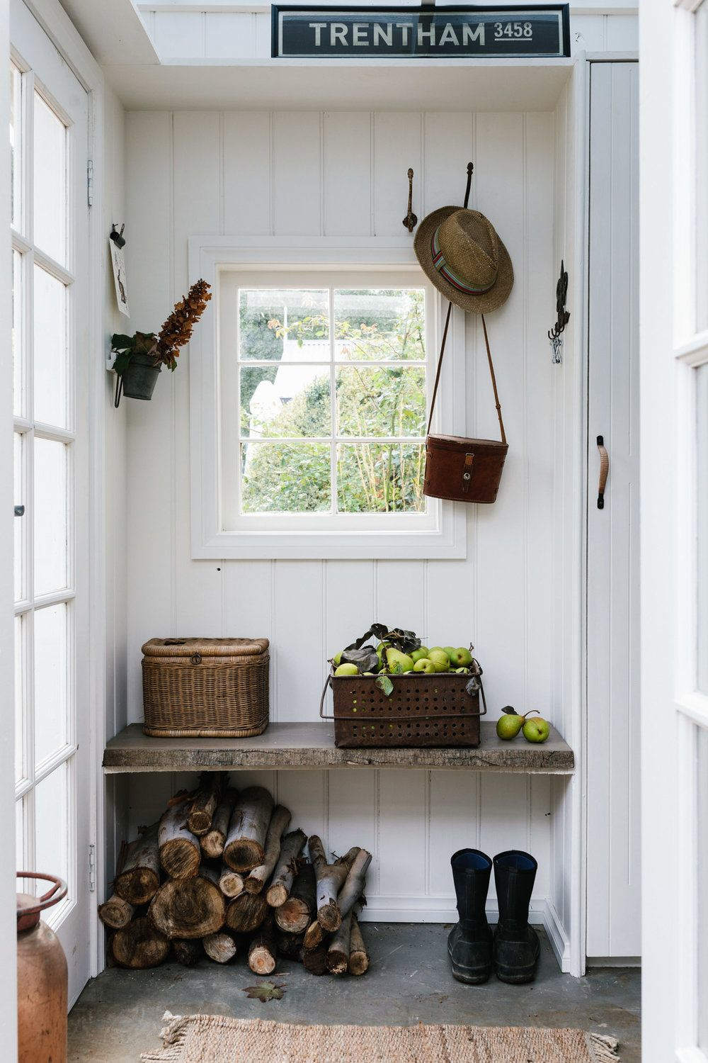 Mudroom at Acre of Roses, Trentham a sustainable flower