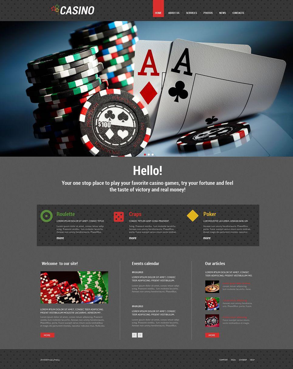 Slot Machines Responsive WordPress Theme | Wordpress and Premium ...