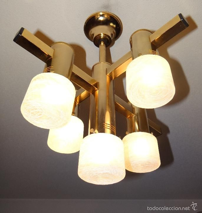 Lampara vintage dise o italiano de 1970 estilo gaetano sciolari lamparas antiguas old lamps - Lamparas diseno italiano ...