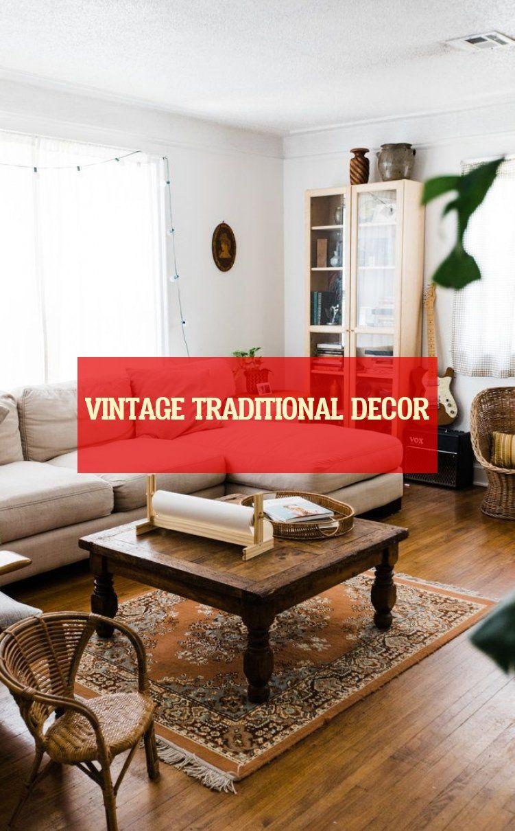 Vintage Traditional Decor Vintage Traditionelles Dekor