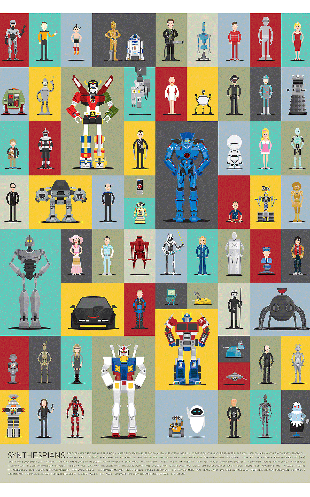 All Your Favorite Pop Culture Robots--Now In One Place   Co.Create   creativity + culture + commerce