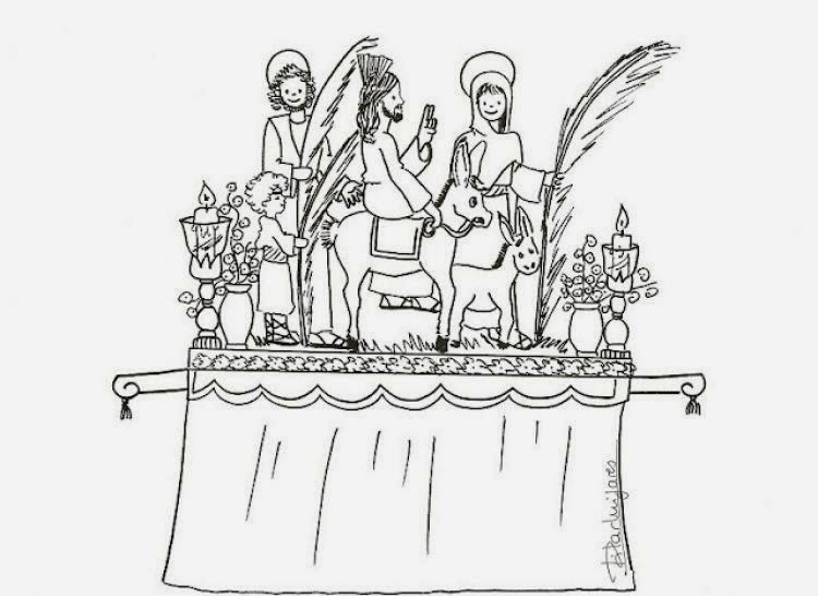Dibujos Para Colorear De Semana Santa Pasos Coloring Pages Free Coloring Pages Colorful Pictures