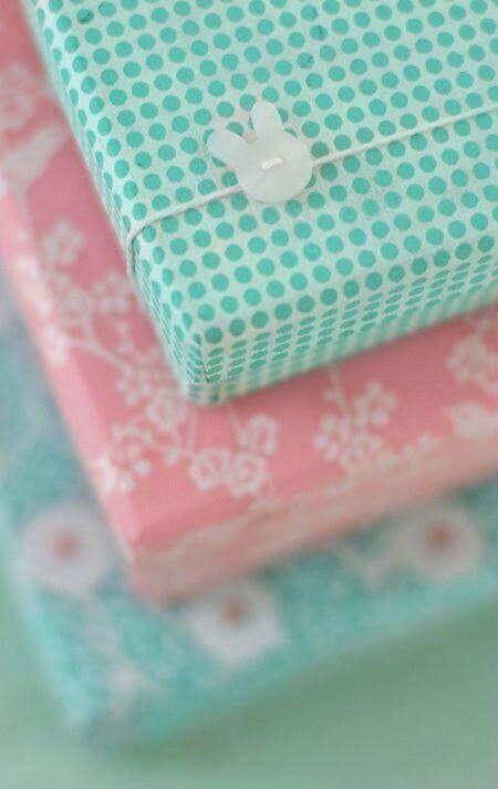 Pink and Aqua Paper