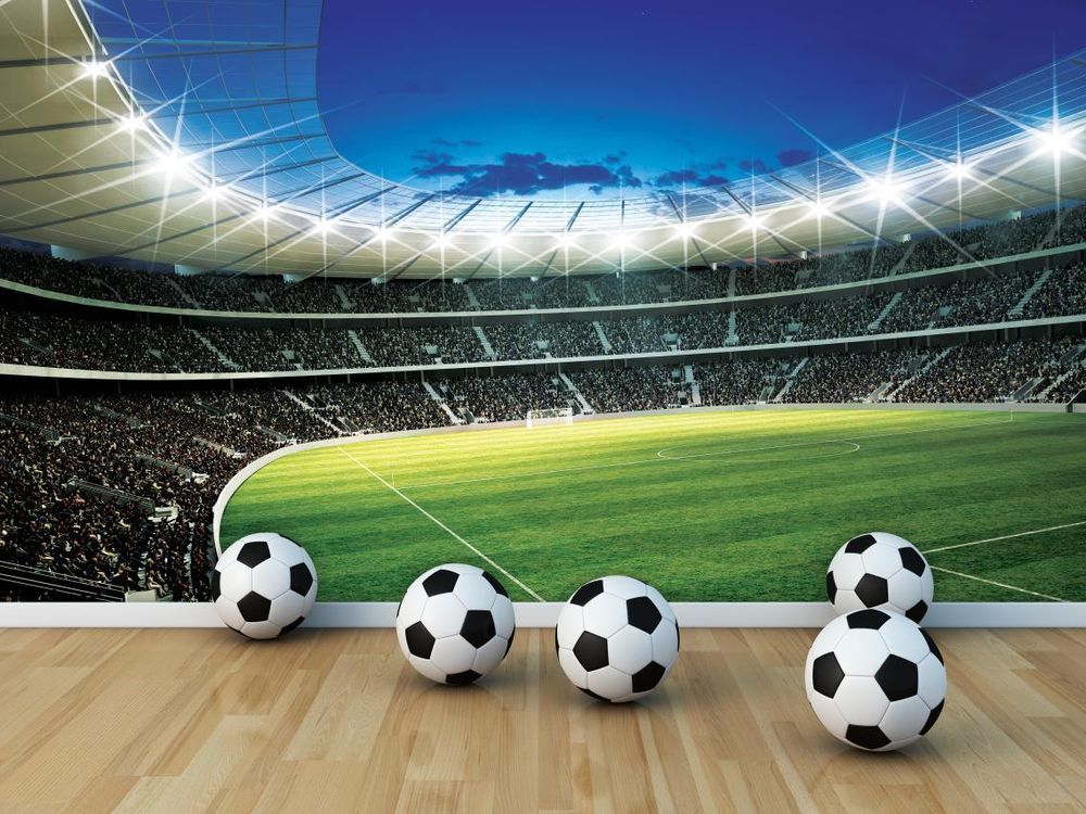Photo Wallpaper Murals 'FOOTBALL STADIUM' Wall Mural Photo Wall Paper (4-323P)