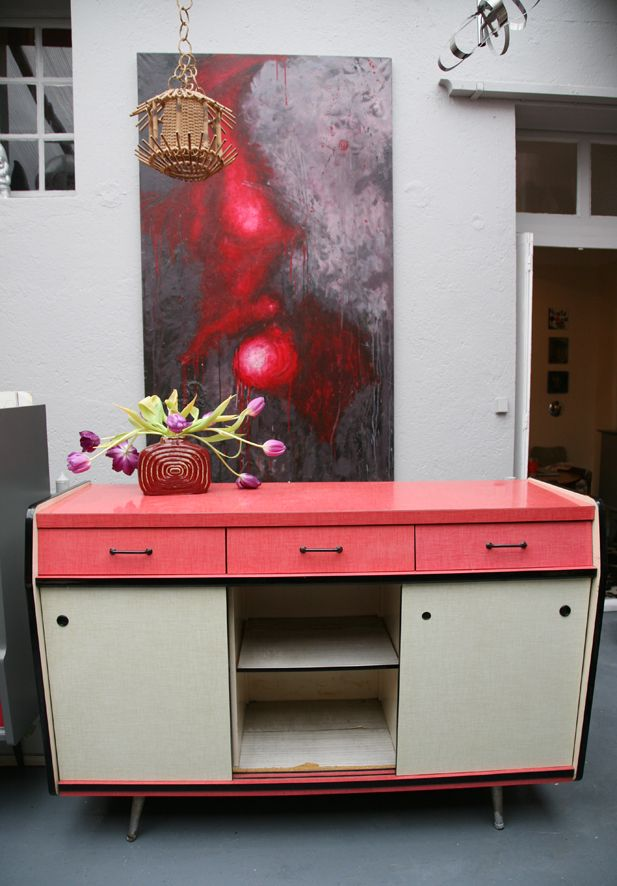 buffet formica vintage | Keuken | Pinterest | Meubles, Meuble ...