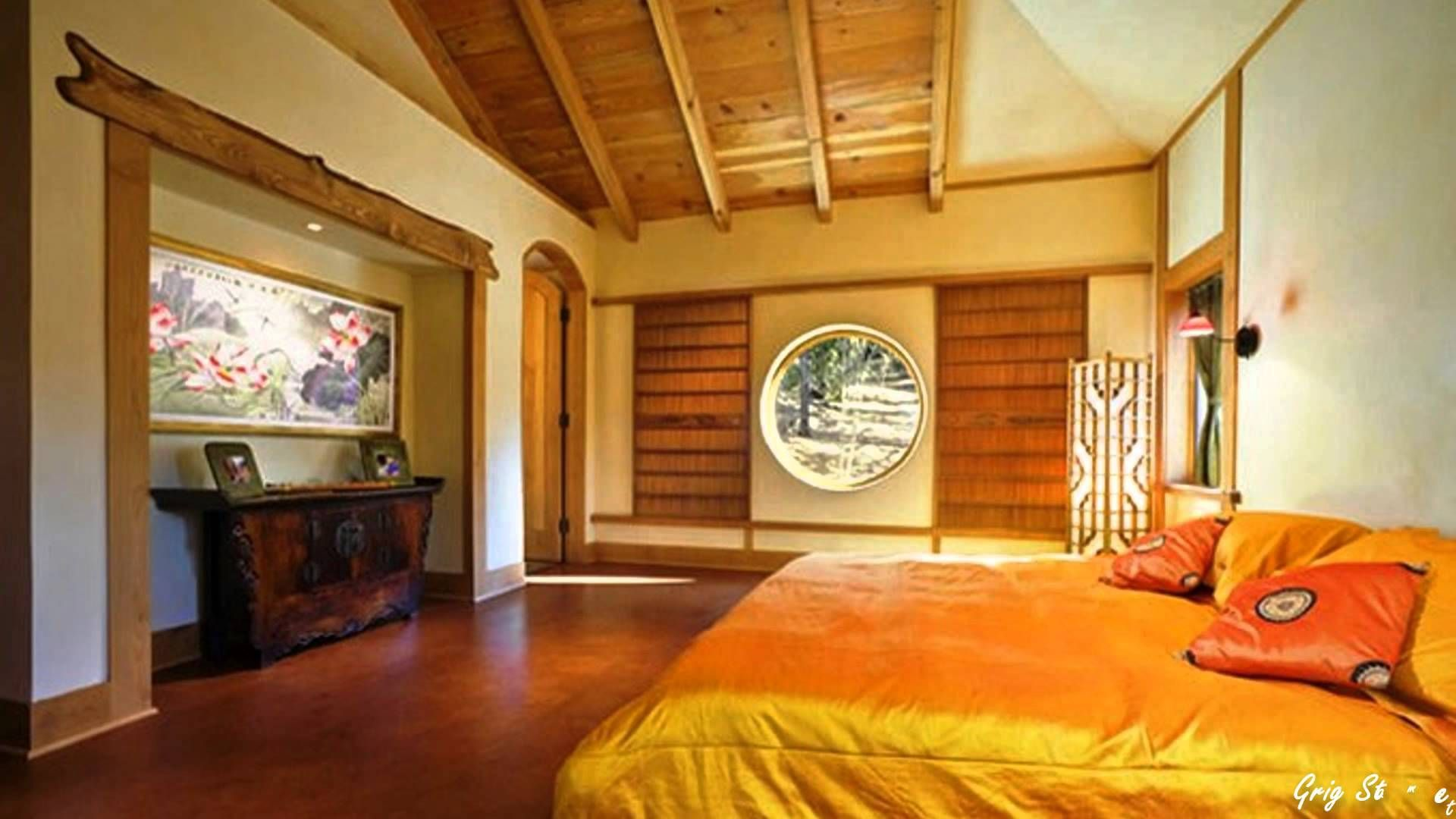 Traditional japanese style bedroom - Japanese Traditional House Interior Design Pure And Peaceful