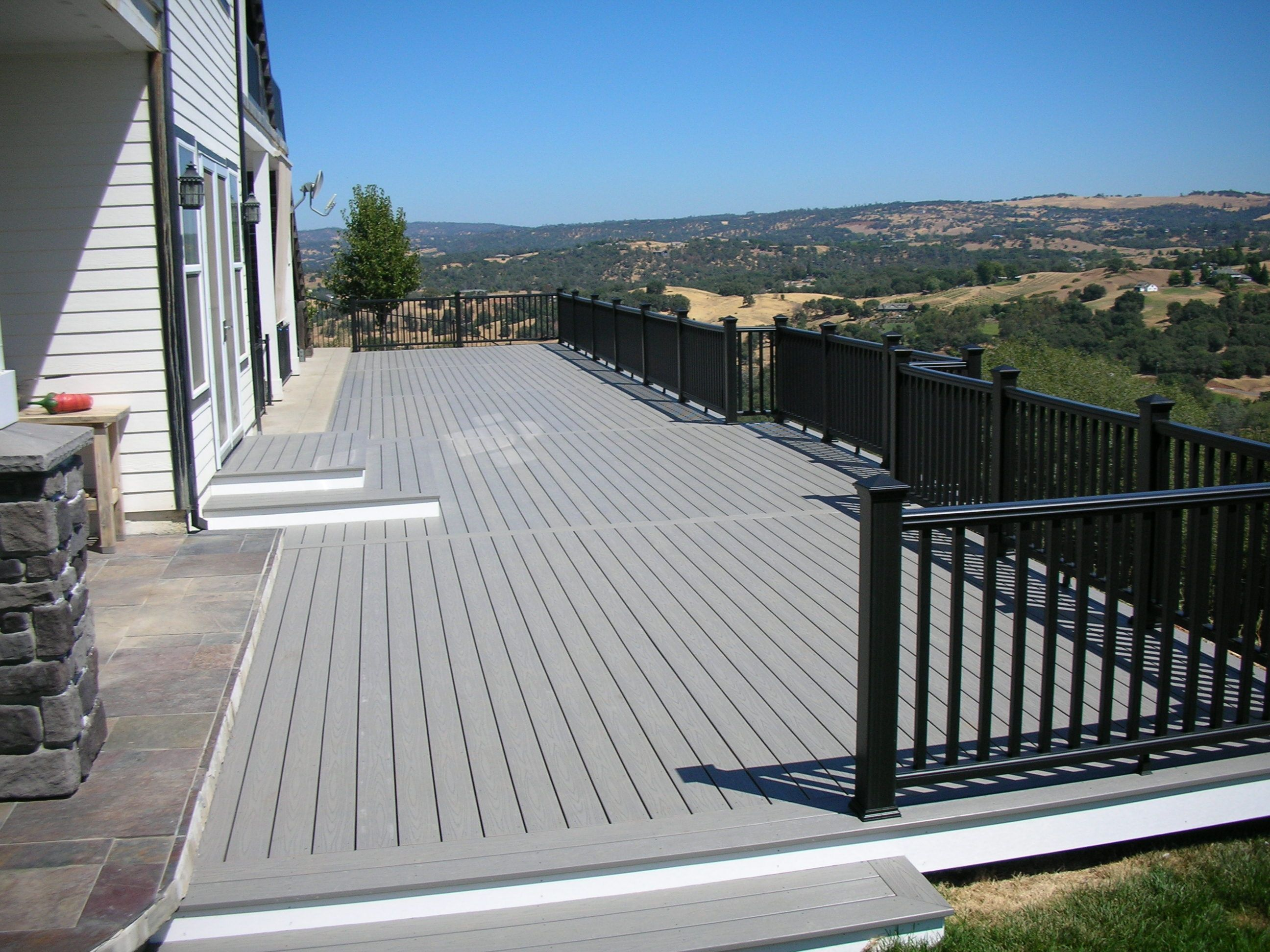Pedestal Fence Deck System Price Cost Of Composite Decking Per