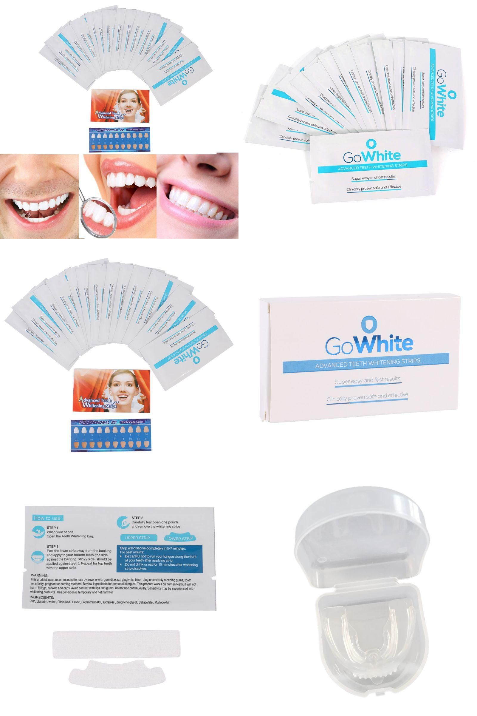 Visit To Buy 14pairs Beauty Teeth Whitening Strips Gel Care Oral