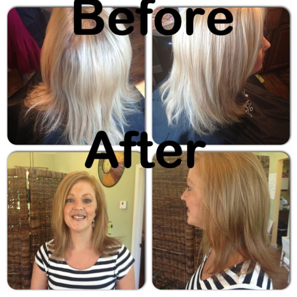 This Is Erin From Bella Nuova Salon In Shelby Oh We Used The Fall
