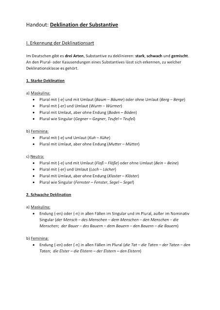 Deutsch mit Frau Virginia D\'Alò: Grammatiktafeln | 4.Klasse Deutsch ...