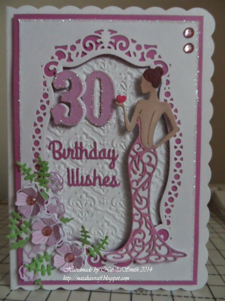 Hello crafters i made this card for a friend th birthday for
