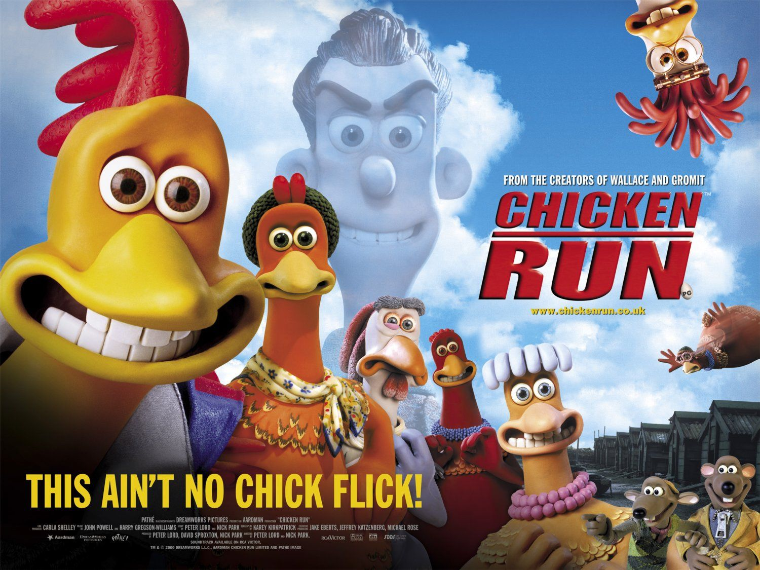 Return to the main poster page for Chicken Run Aardman