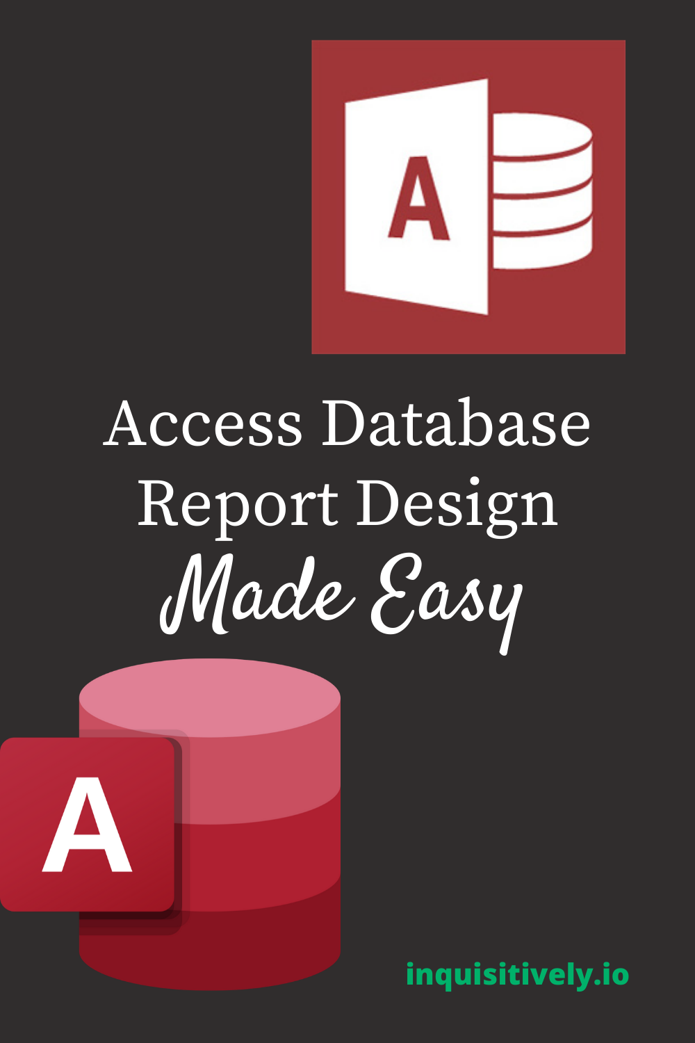Learn to design access database reports like a