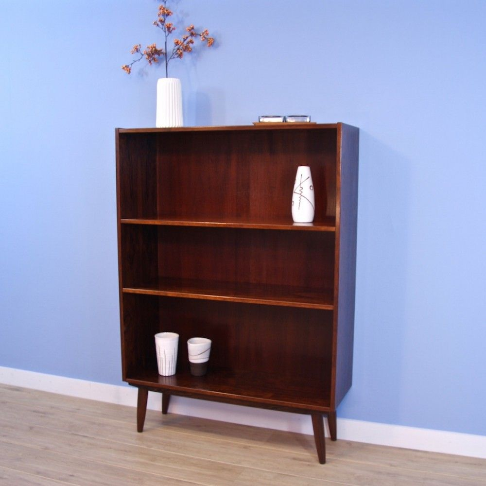 For Sale Danish Bookcase In Rosewood 1960s Bookcase Vintage