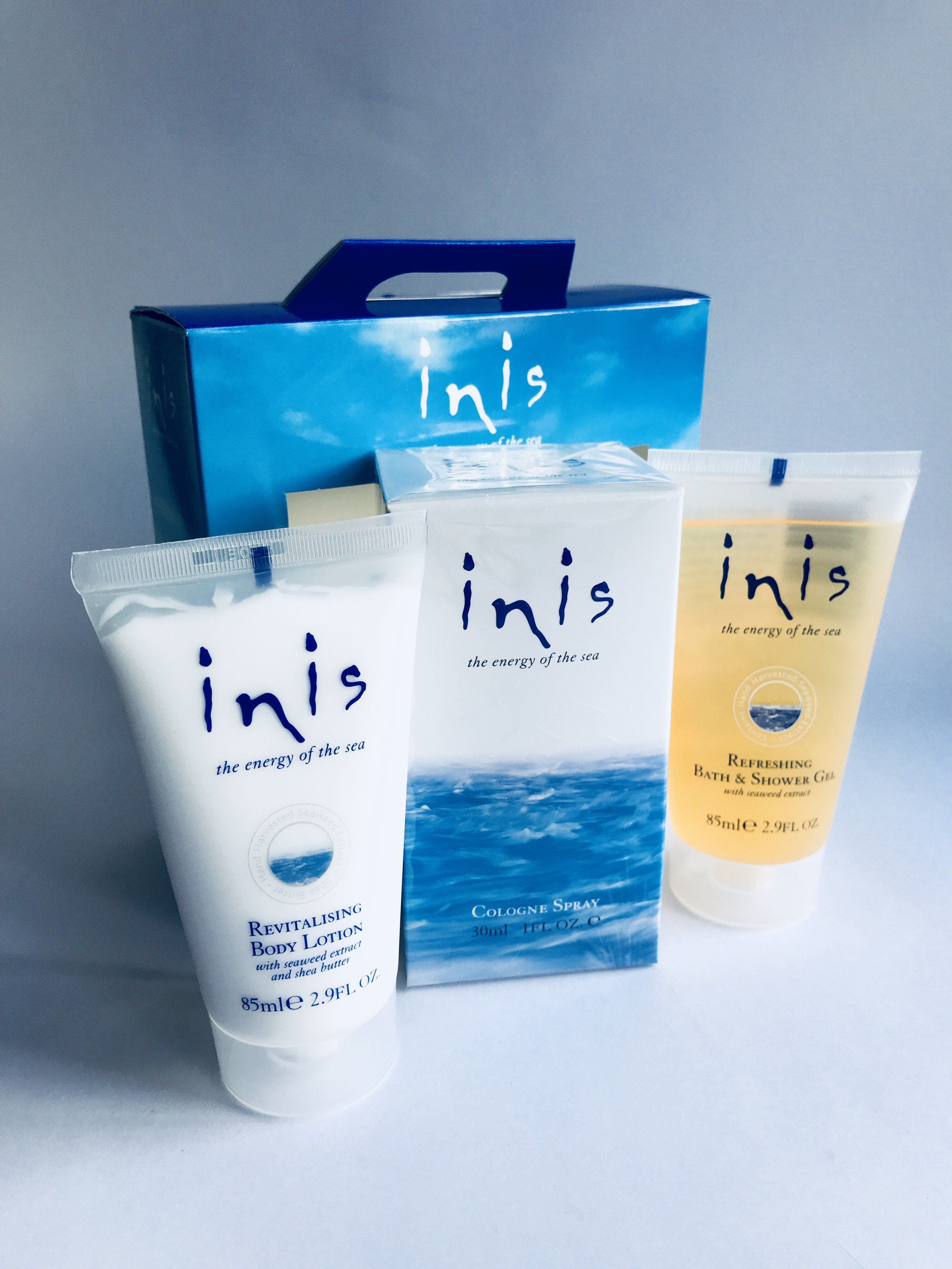 Inis body set body body lotion shower gel