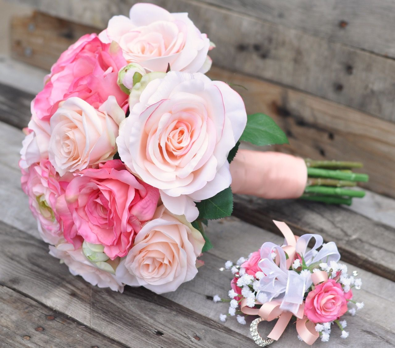 Silk Flower bouquets perfect for your destination wedding and ...