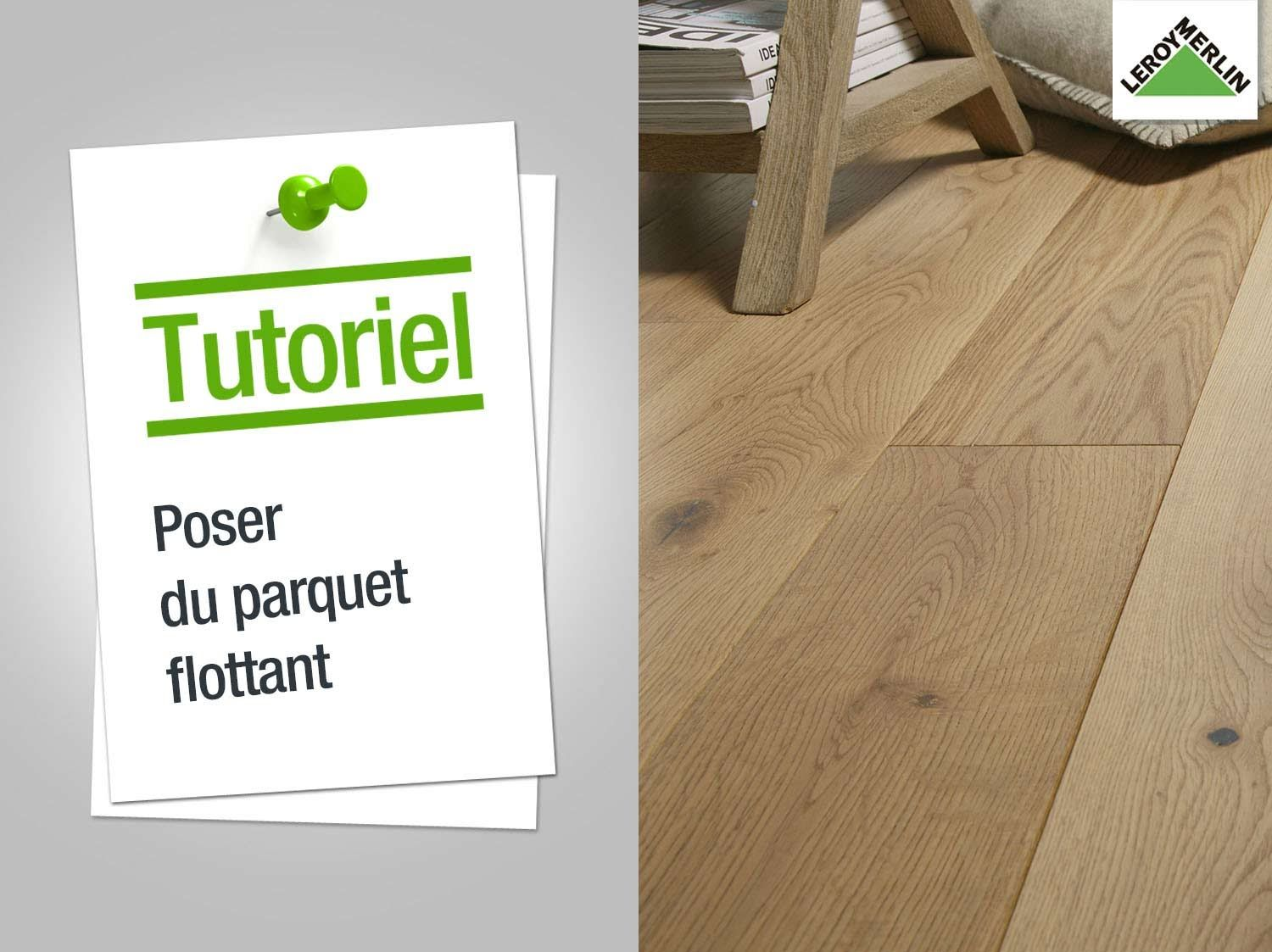 comment poser un parquet flottant leroy merlin maison restaur e pinterest parquet. Black Bedroom Furniture Sets. Home Design Ideas