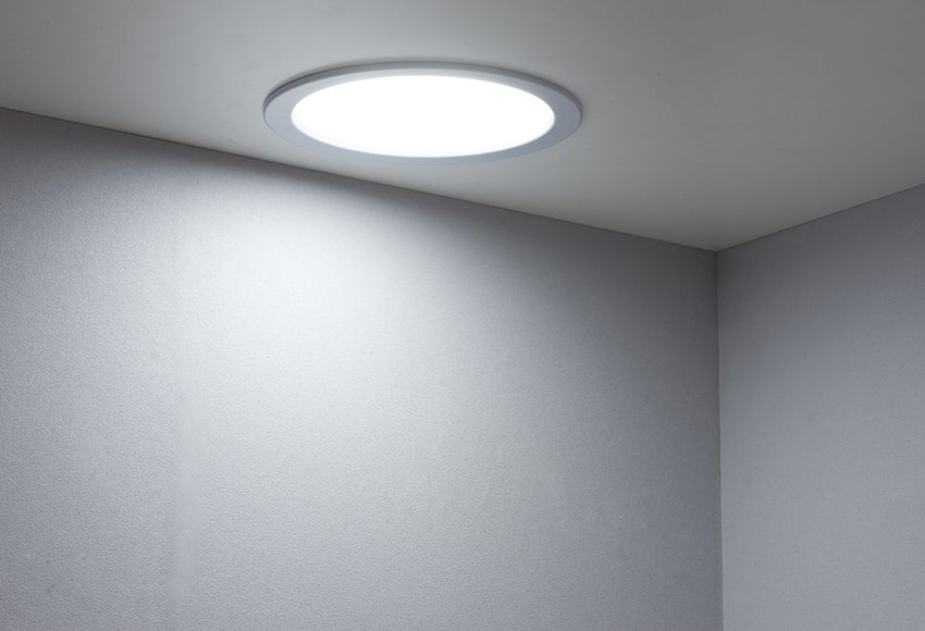 Foco Empotrable Led Redondo Blanco Inspire Ref 16583315 Leroy Merlin Ceiling Lights Light Lamp