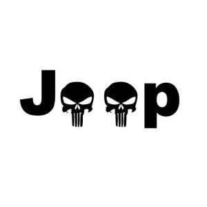 Jeep With Skulls Decal With Images Jeep Decals Skull Decal Jeep Life Decal