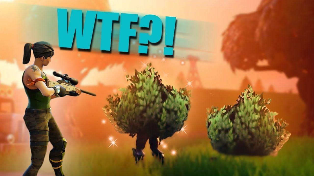 Legendary Bush Trolling New Bushes Update Fortnite Battle