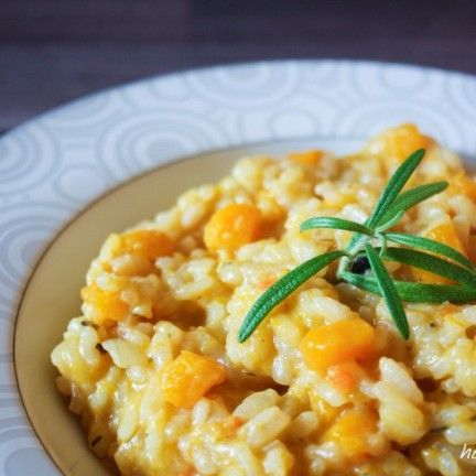 Photo of today there is … pumpkin risotto