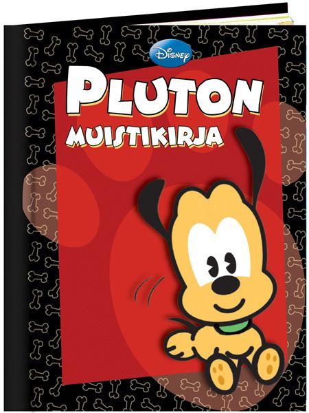Hauska Pluton muistikirja tallettaa kaikki tärkeät tapahtumat ja vaikkapa kavereitten yhteystiedot, ja kirjasta löydät myös hervottomia koira-aiheisia vitsejä koulupäivien piristykseksi. Hinta vain 1,90€!