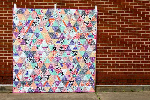 Geometric Bliss Triangularity Quilt
