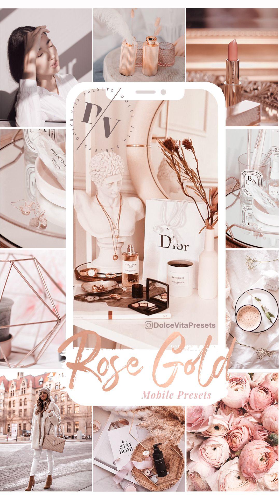 Rose Gold - 3 Luxurious Lightroom Presets