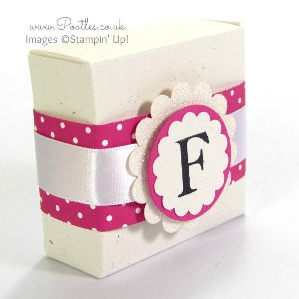Monogram Boxes Tutorial using Sophisticated Serifs