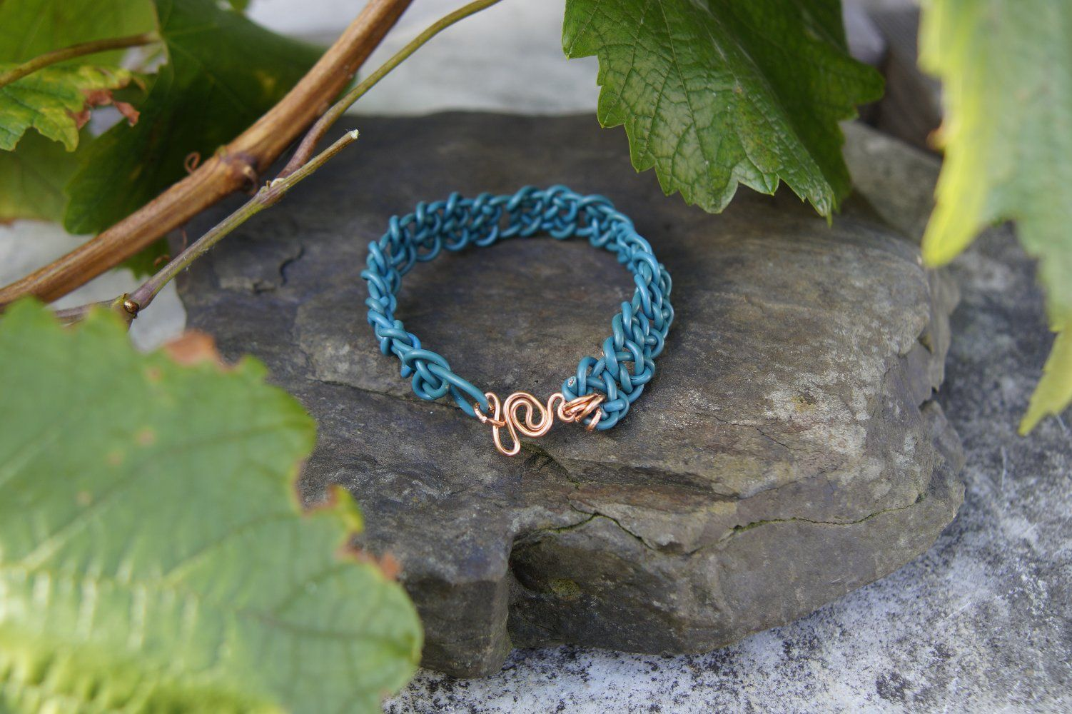 Bracelet Permaknot Atlantic Swirl is 100% made out of recycled ...